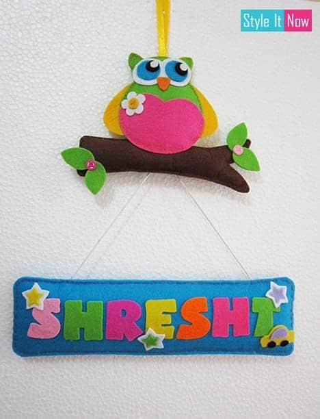 Felt-owl-name-hanging-2
