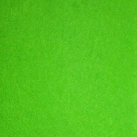 "Bright Green Polyester Felt Sheet 1 Meter x 44"""