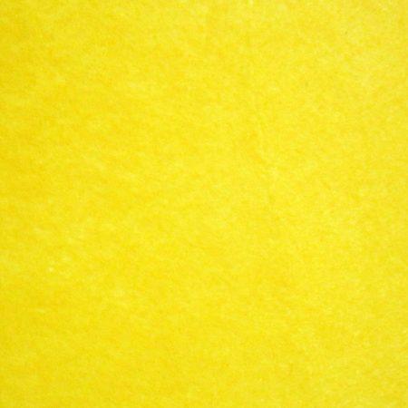 "Bright Yellow Polyester Felt Sheet 1 Meter x 44"""