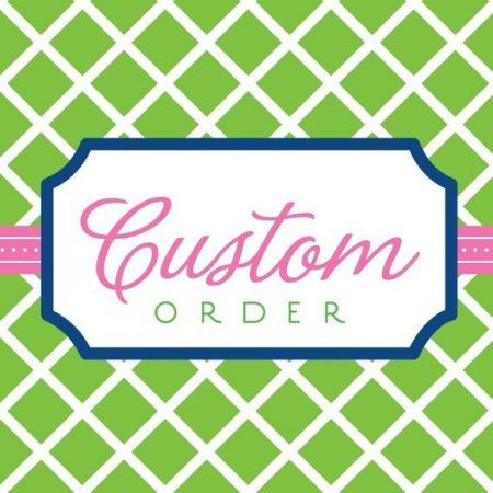 Custom Listing for Sruthy Nov 11