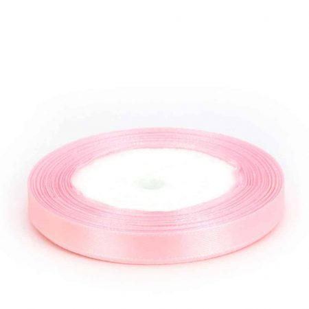 Light Pink 6mm satin ribbon 10 meter