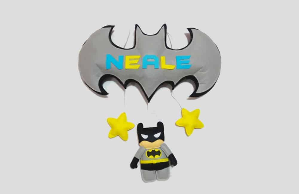 Batman Name Hanging