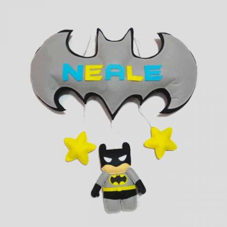 Batman Themed Name Hanging